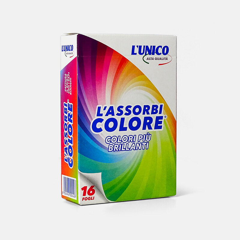Montree, Confezione colorata assorbicolore di lavatris prodotto per lavatrice, 16 figli