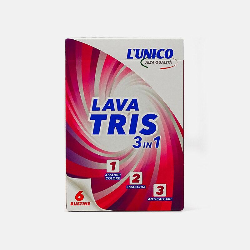 Confezione di lavatris, assorbicolore, smacchiante e anticalcare, prodotto per lavatrice su Montree.it