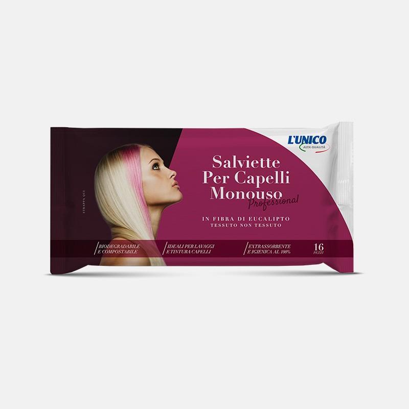 Asciugamani monouso professionali capelli